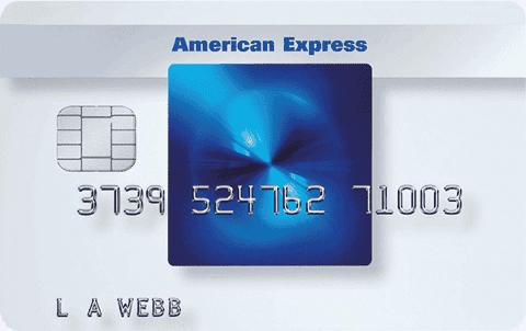 Amex Blue Kreditkort Cashback