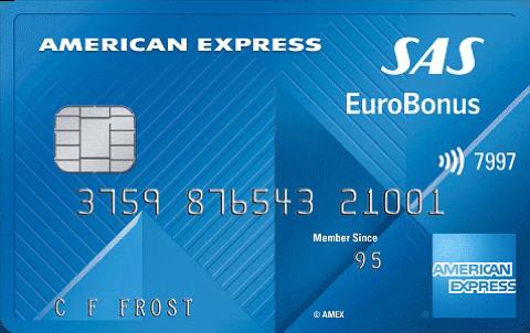 SAS Amex Classic Kreditkort Gratis