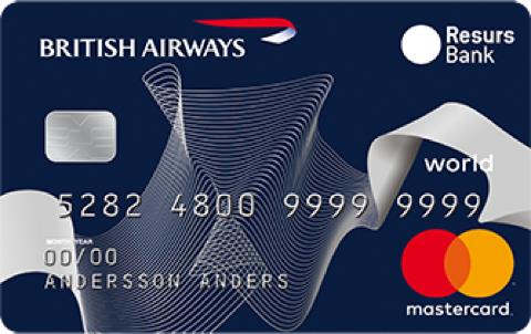 Premium Kreditkort British Airways