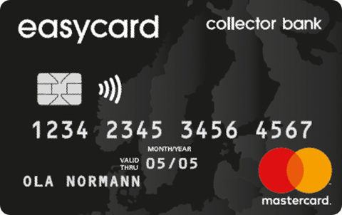 Kreditkort Easycard Collector