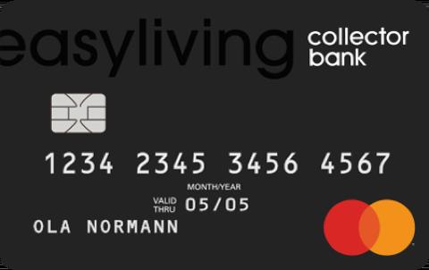 Kreditkort Easyliving Collector