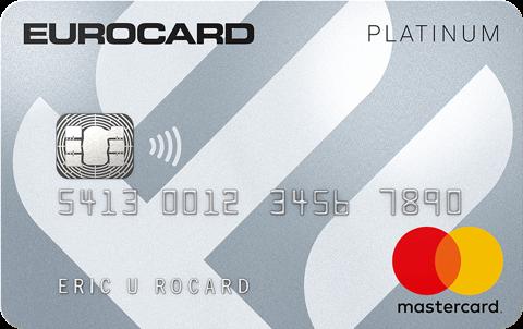 Kreditkort Eurocard Platinum no limit