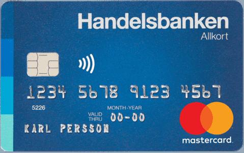 Kreditkort Handelsbanken Allkort
