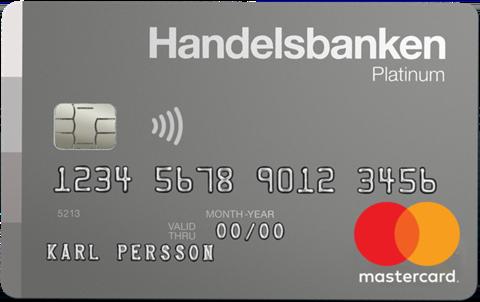 Platinum Kreditkort Handelsbanken
