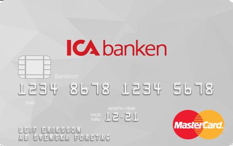 Kreditkort mat ICA Bonus