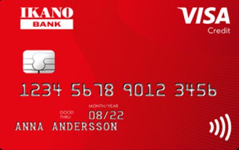 Kreditkort från Ikano Bank Gratis