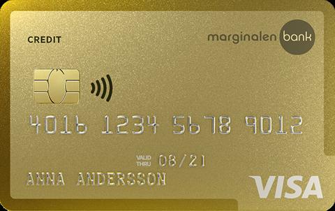 Kreditkort Guld Marginalen Bank
