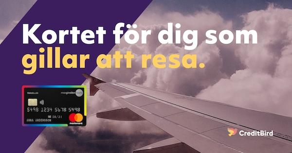 Kreditkort resa bästa