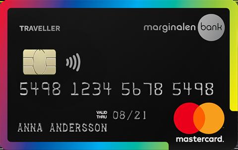 Kreditkort Resa Marginalen försäkringar