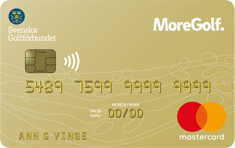 Kreditkort med bonus på Golf