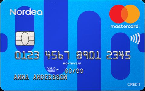 Jämför Kreditkort Nordea Credit