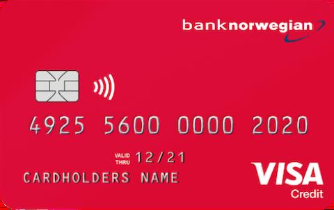 Kreditkort från Norwegian