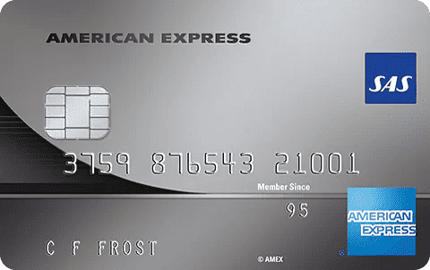SAS Amex Elite Expense Betalkort