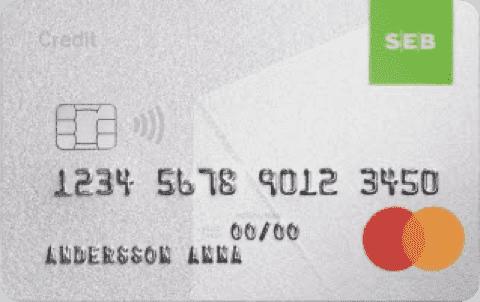 Jämför Kreditkort SEB Credit