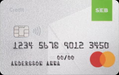 Kreditkort SEB Credit