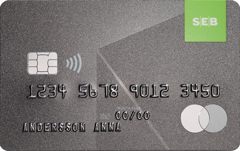 Premium kreditkort från SEB