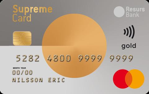 Kreditkort Student Supreme