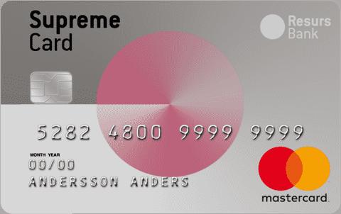 Kreditkort Bröstcancerfonden