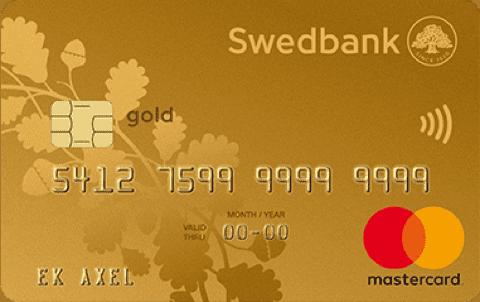 Jämför Kreditkort Swedbank Guld
