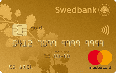 Kreditkort Gold Swedbank