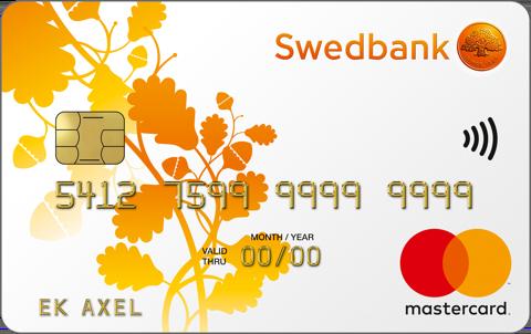 Kreditkort från Swedbank Mastercard