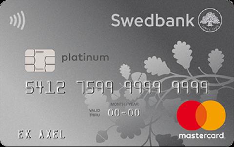 Kreditkort Swedbank Platinum Premium